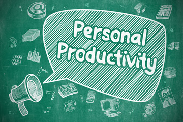 Personal Productivity - Business Concept.
