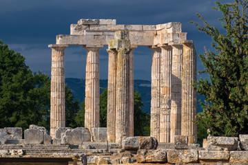 Zeus Tempel von Nemea. Peloponnes, Griechenland.16130.jpg