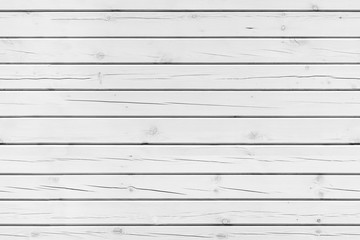 White wooden wall, seamless background