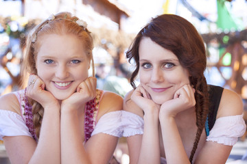Search photos german girl german girls wearing traditional dirndl voltagebd Image collections