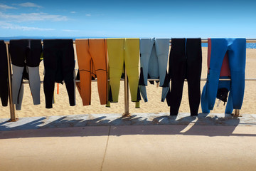 Drying Wet Suits