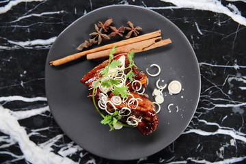 Roasted pork Belly with Chinese Herbs