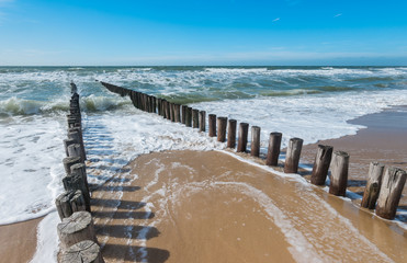 Wall Mural - Nordseestrand in holland
