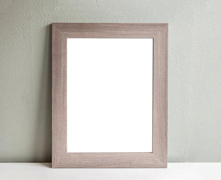 Large empty frame mockup