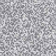 Pattern of squares in gray tonality.