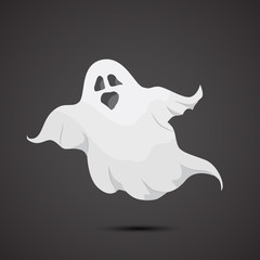 Ghost vector icon.