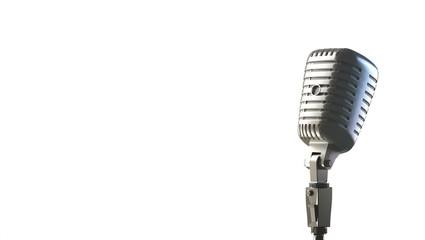 Microfono vintage da blues o jazz