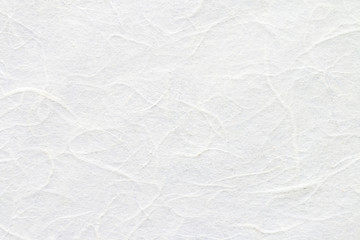 White mulberry paper texture. Wall mural