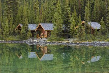 Lake O'Hara Lodge Cabins, Yoho National Park, British Columbia, Canada
