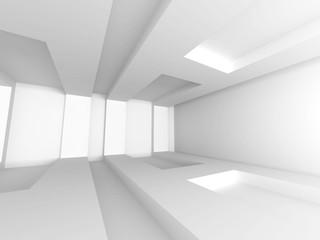 Abstract Architecture Design Minimalistic Interior Background