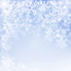 snowflake texture, decorative winter background