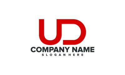 UD initial logo illustration
