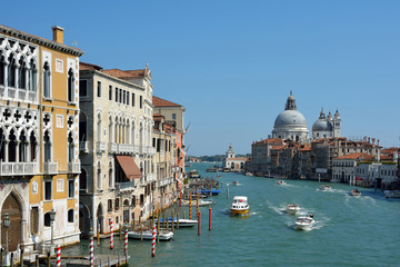 Grand Canal in Venice - Italy.