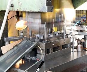 Workshop - Metal forming press