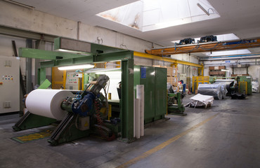 Paper and pulp mill - Factory (Finishing Line)