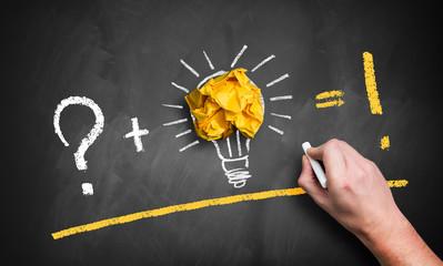 Idee-Entstehungs-Prozess