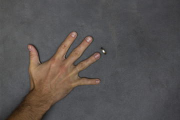 ring near the hand