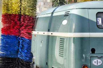 Lavaggio furgoncino