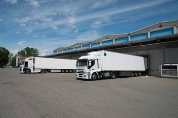 Large cold warehouse (Refrigerated trucks)