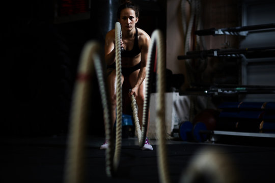 Exercises with ropes