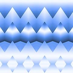 декоративный узор геометрические фигуры в синих тонах
