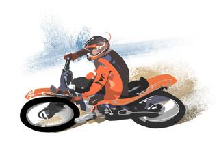 モトクロス-バイク
