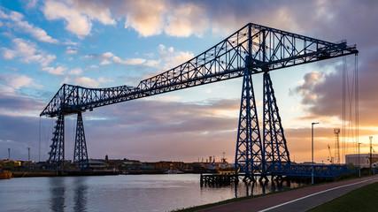 Transporter Bridge, Middlesbrough, UK