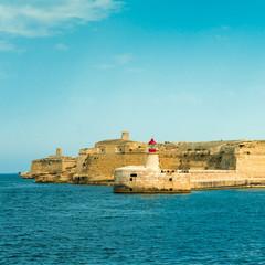 Old lighthouse at Valletta