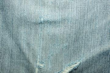texturea of jeans