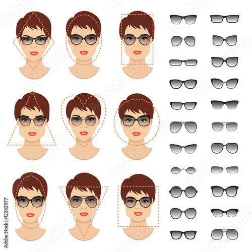 Quot Woman Sunglasses Shapes For Different Women Face Types