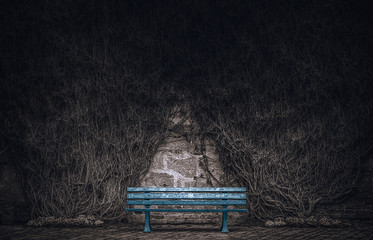 Wildwuchs - A melancholic scenery. Wall mural