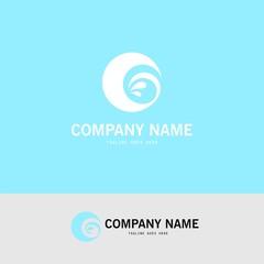 letter G water splash logo