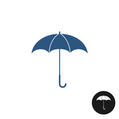 Umbrella icon. Isolated on white background.