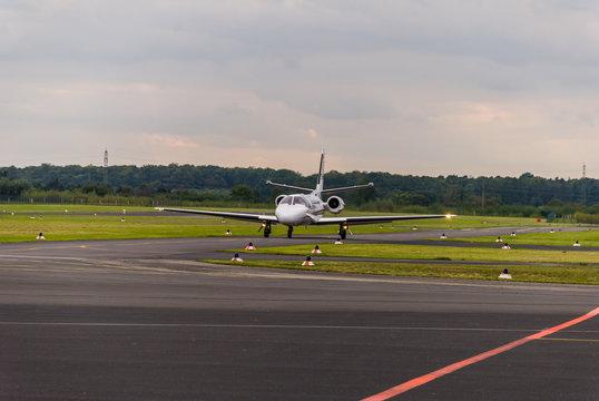 Learjet in Egelsbach, Germany