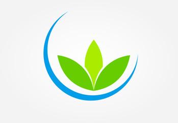 Eco green global logo