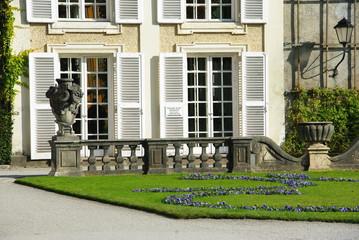 Schloss Mirabell gardens in Salzburg