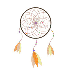 Hand drawn dreamcatcher