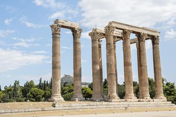 Säulen des Zeustempels (Olympieion) in Athen