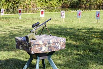 sniper rifle shooting range