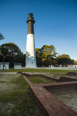 Lighthouse in Hunting Island State Park, South Carolina