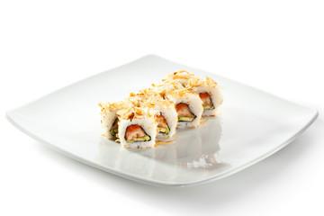 Salmon Skin Maki Sushi