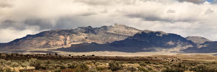 Desert mountain range, panorama Fotoväggar