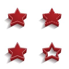 ikona 3D z obrysem zestaw