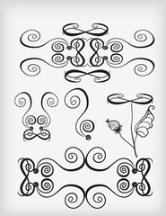 Set of ornament elements.1