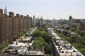 Urban landscape, Manhattan, New York, United States of America