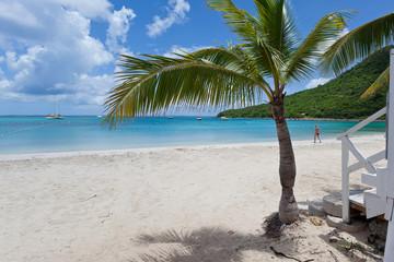 Anse Marcel in Saint Martin Island, French West Caribbean