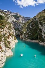 Gole del Verdon, Provenza, Francia