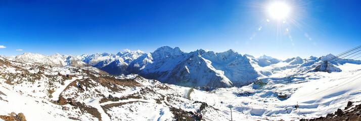 Горы большого Кавказского хребта, Россия