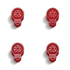 ikona 3D z obrysem zestaw - fototapety na wymiar