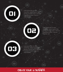 Timeline Infographic, vector